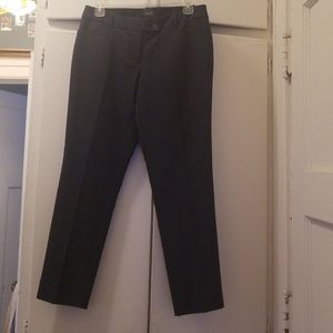 Navy Dress Pants with Small White Dots
